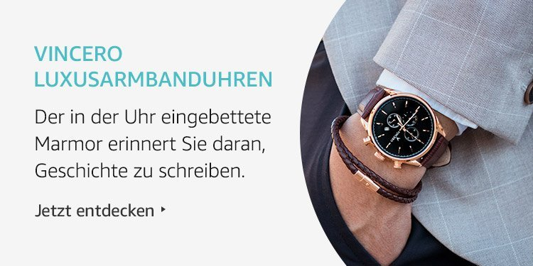 Amazon Launchpad: Vincero Luxusarmbanduhren