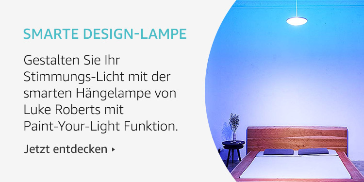 Amazon Launchpad Start-up: Smarte Design-Lampe