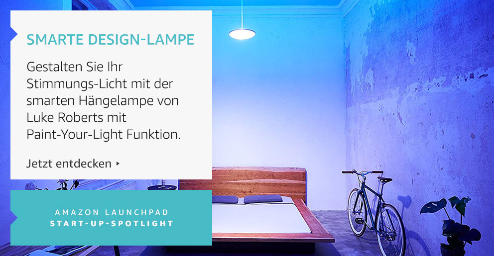 Amazon Launchpad: Smarte Design-Lampe