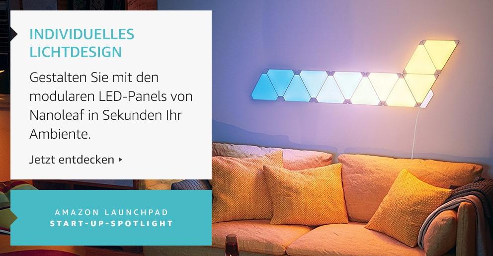 Amazon Launchpad: Individuelles Licht-Design mit Nanoleaf