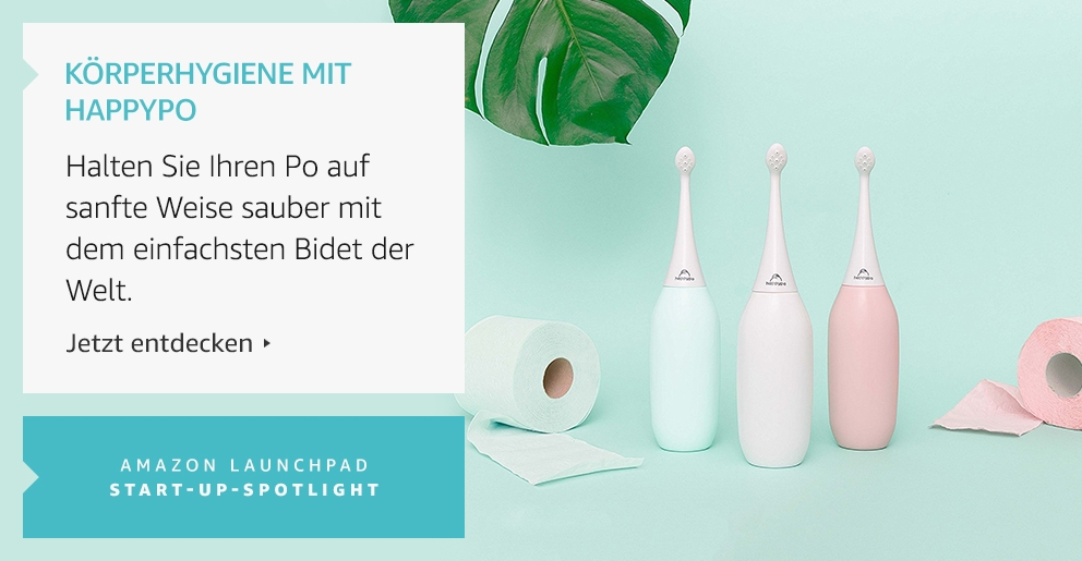 Amazon Launchpad: Körperhygiene mit Happypo