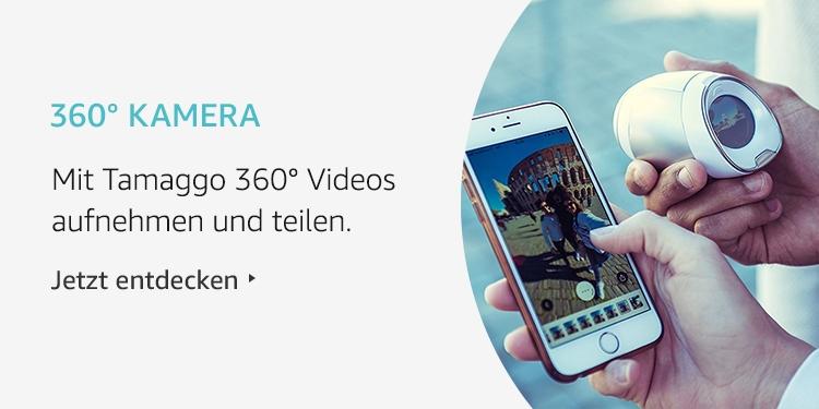 Amazon Launchpad Start-up-Produkte: 360 Grad Kamera von Tamaggo