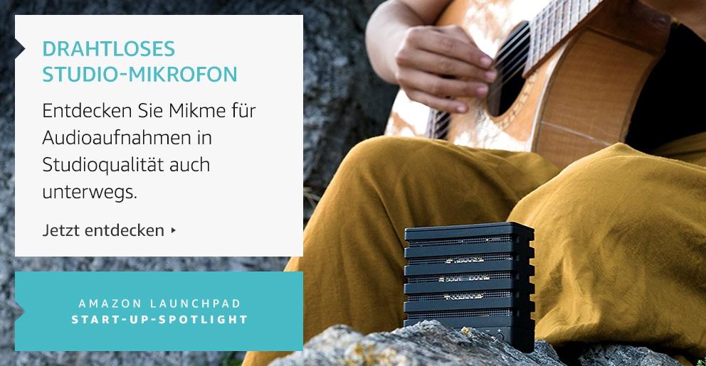 Amazon Launchpad: Mikeme drahtloses Mikrofon