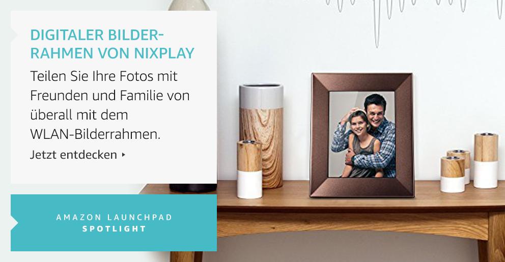 Amazon Launchpad: Digitaler Bilder-Rahmen Von Nixplay