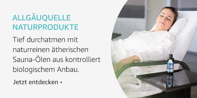 Amazon Launchpad: AllgäuQuelle Naturprodukte