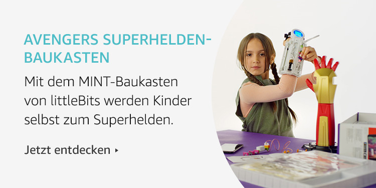 Amazon Launchpad Start-up-Produkte: Avengers Superhelden-Baukasten