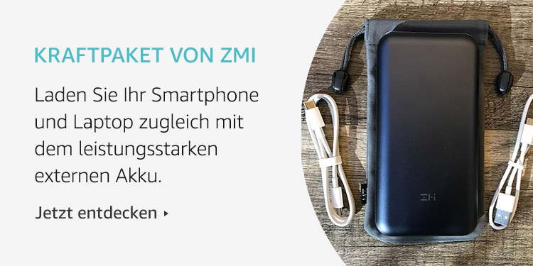 Amazon Launchpad Start-up-Produkte: Kraftpaket von ZMI