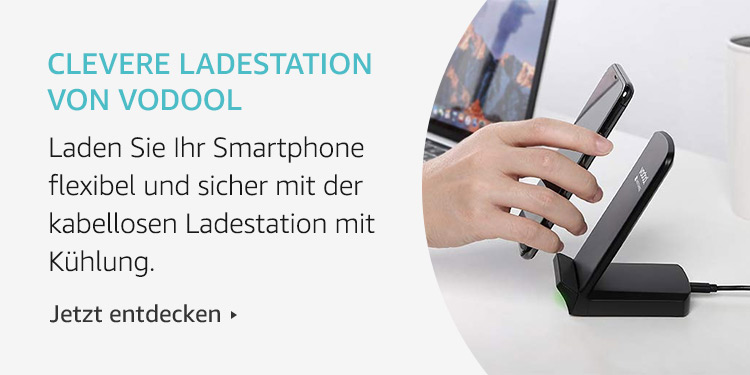 Amazon Launchpad: Clevere Ladestation von Vodool