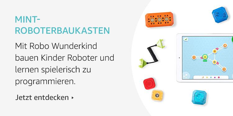 Amazon Launchpad Start-up-Produkte: MINT-Roboterbaukasten