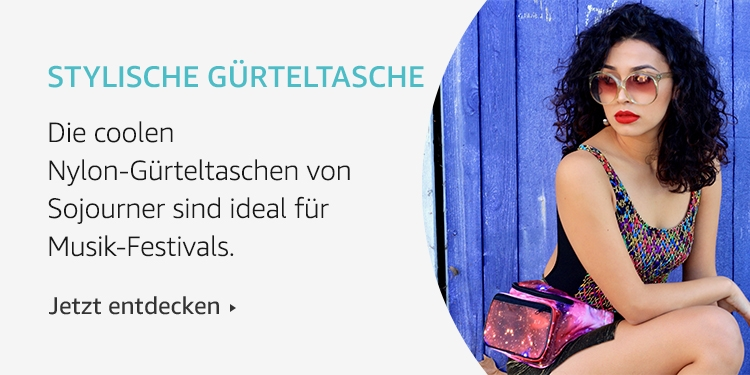 Amazon Launchpad: Stylische Gürteltasche