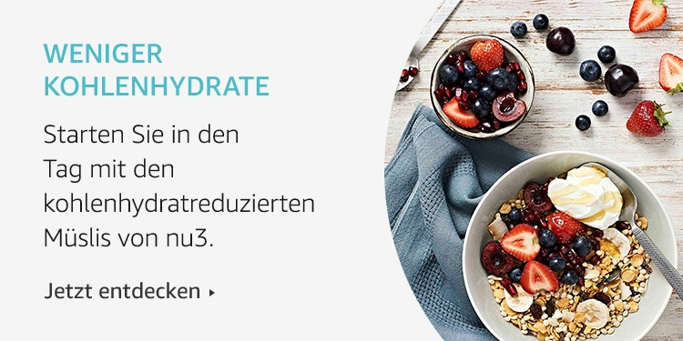 Amazon Launchpad: Weniger Kolenhydrate