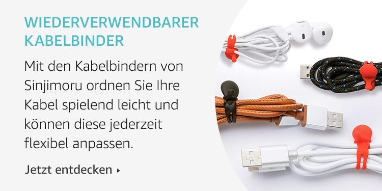Amazon Launchpad: Wiederverwendbarer Kabelbinder