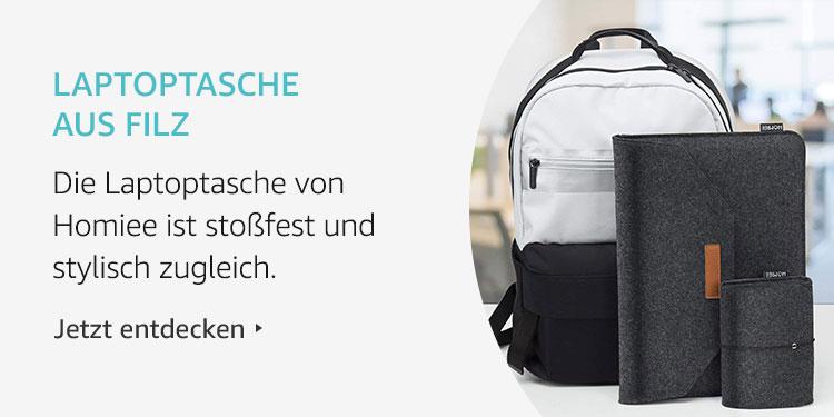 Amazon Launchpad: Laptoptasche aus Filz