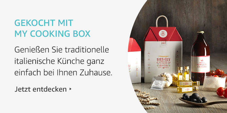 Amazon Launchpad Start-up: Gekocht mit My Cooking Box