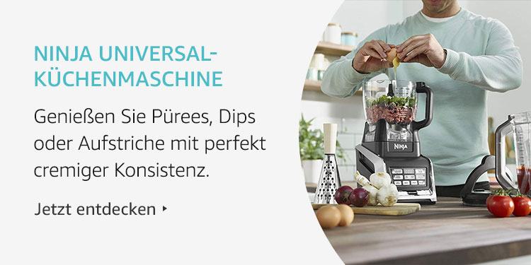 Amazon Launchpad Start-up-Produkte: Ninja Universal-Küchenmaschine