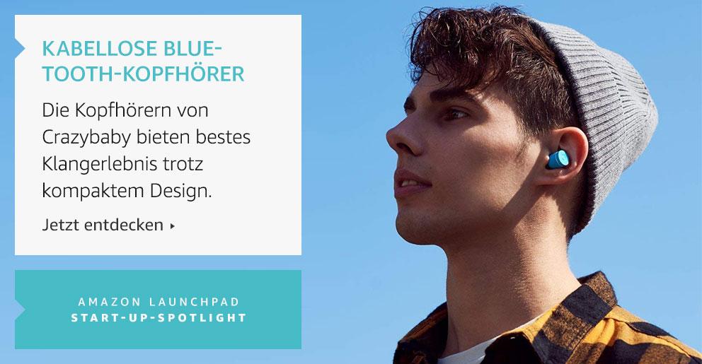 Amazon Launchpad: Kabellose Bluetooth-Kopfhörer
