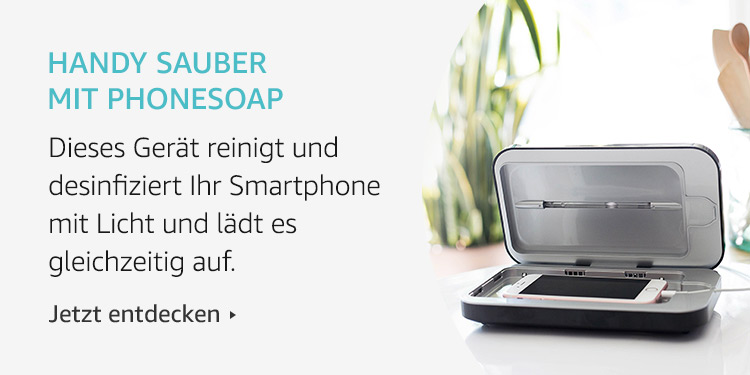 Amazon Launchpad Start-up-Produkte: Handy sauber mit PhoneSoap