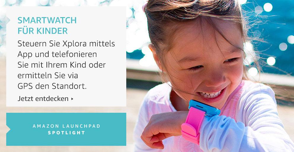 Amazon Launchpad: Smartwatch für Kinder