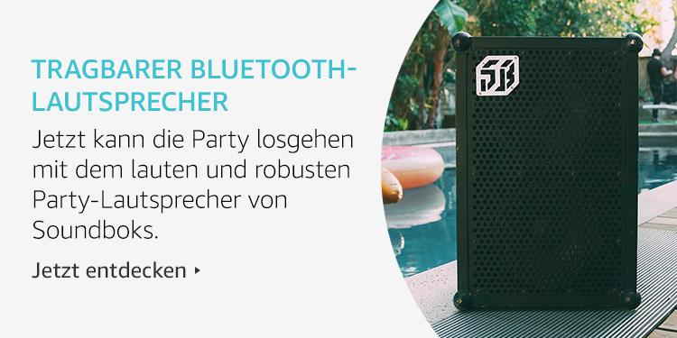 Amazon Launchpad Start-upAmazon Launchpad: Gutes Bauchgefühl-Produkte: Tragbarer Bkuethooth Lautsprecher