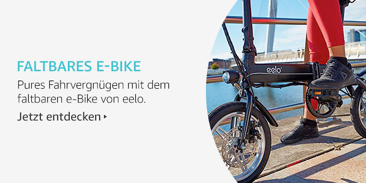Amazon Launchpad Start-up-Produkte: Faltbarer E-Bike
