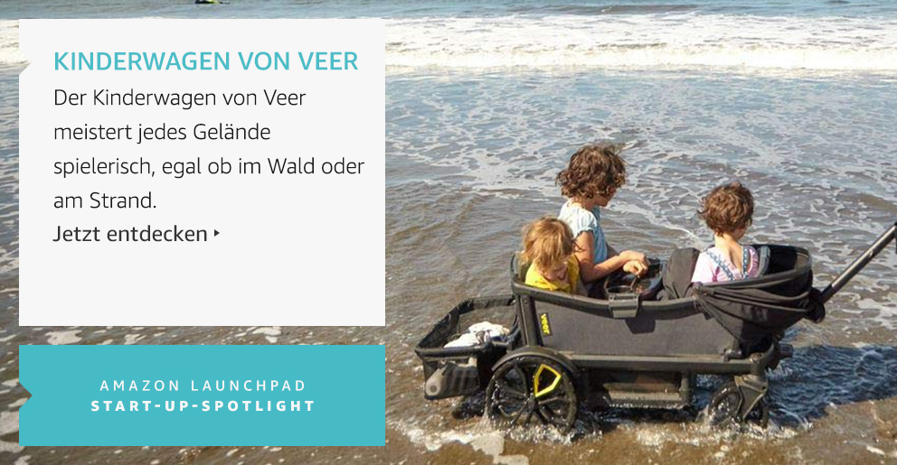 Amazon Launchpad: Kinderwagen von veer
