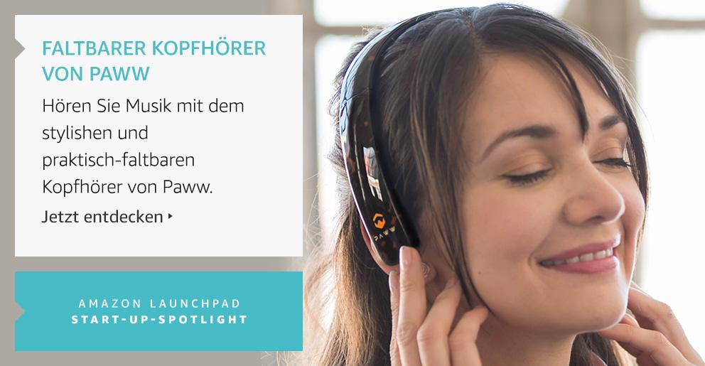Amazon Launchpad: Faltbarer Kopfhörer Von Paww