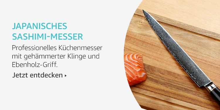 Amazon Launchpad: Japanisches Sashimi-Messer