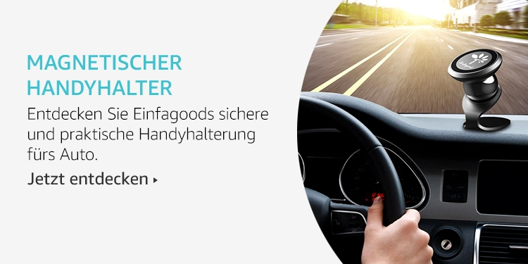 Amazon Launchpad Start-up-Produkte: Magnetischer Handyhalter