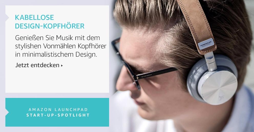 Amazon Launchpad: Vonmählen Kopfhörer