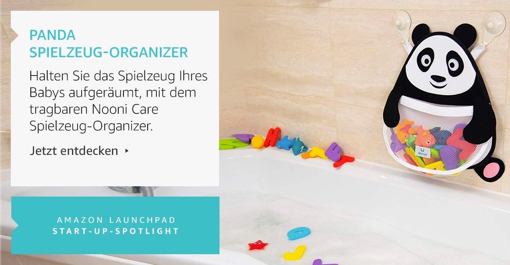 Amazon Launchpad: Panda Spielzeug-Organizer