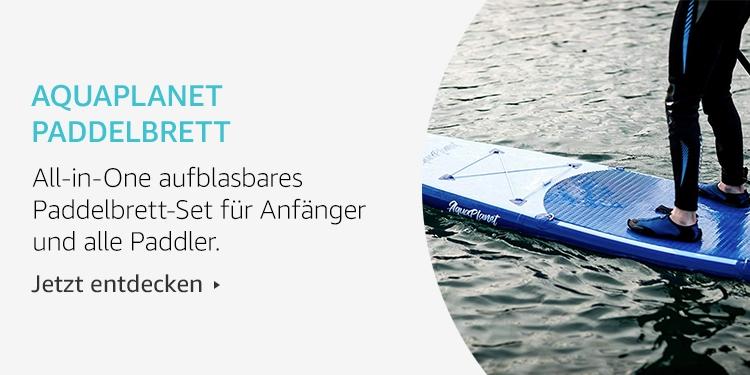 Amazon Launchpad Start-up-Produkte: Aquaplanet Paddelbrett