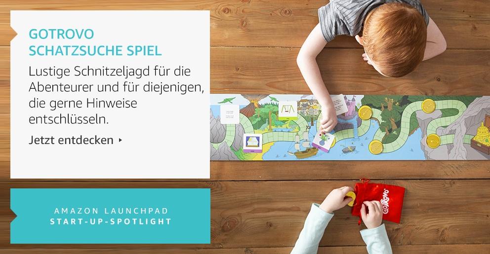 Amazon Launchpad: Gotrovo Schatzsuche Spiel