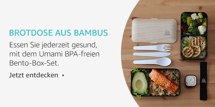 Amazon Launchpad: Brotdose aus Bambus