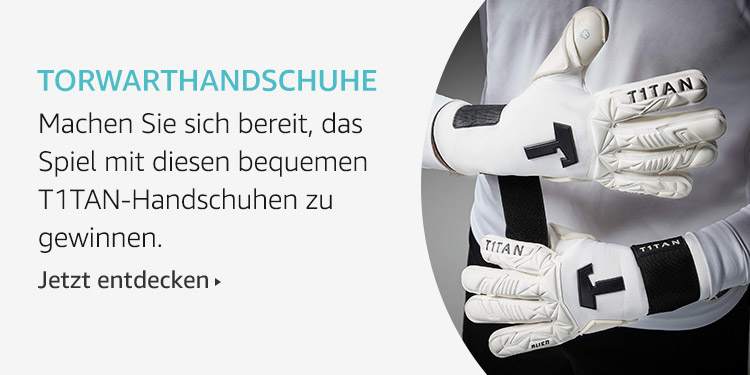 Amazon Launchpad Start-up-Produkte: Torwarthandschuhe