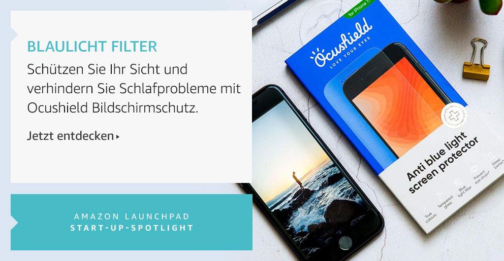 Amazon Launchpad: Blaulicht Filter