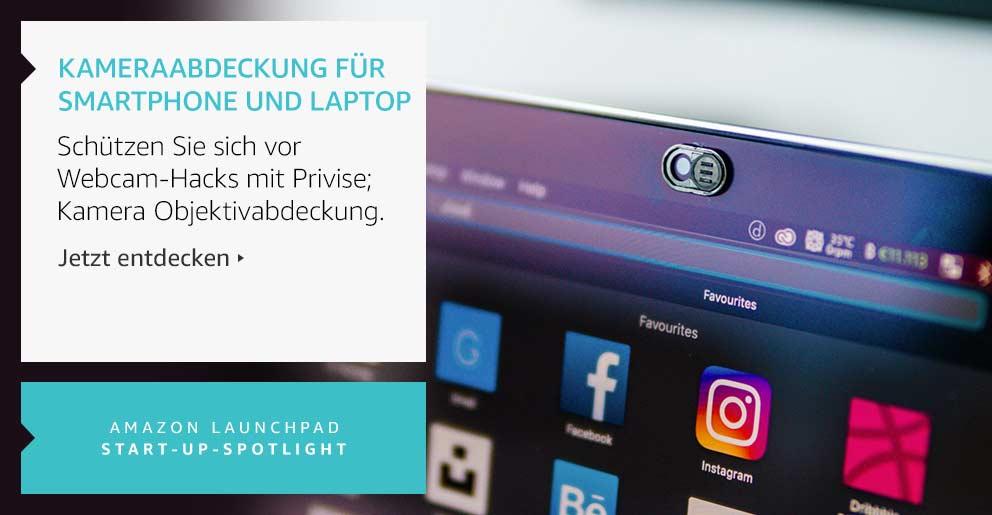 Amazon Launchpad: Kameraabdeckung für Smartphone und Laptop