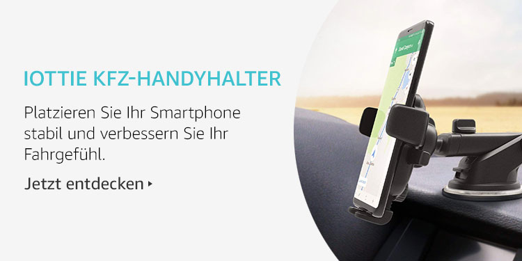 Amazon Launchpad Start-up-Produkte: iOttie KFZ-Handyhalter