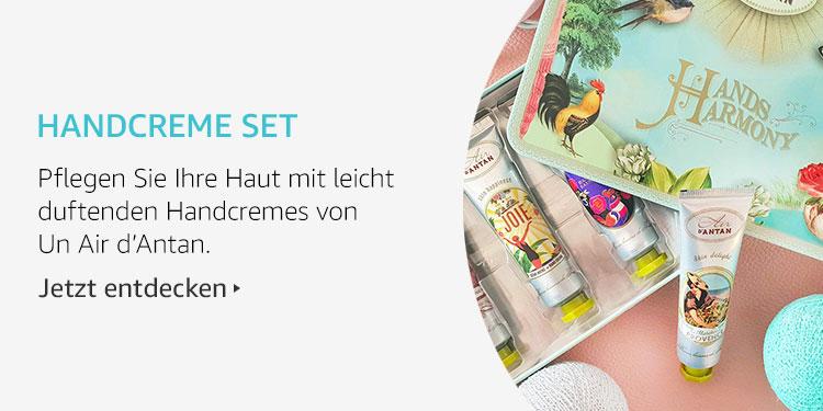 Amazon Launchpad Start-up-Produkte: Handcreme Set