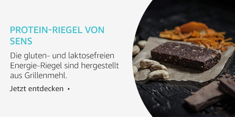 Amazon Launchpad:Protein-Riegel von Sens