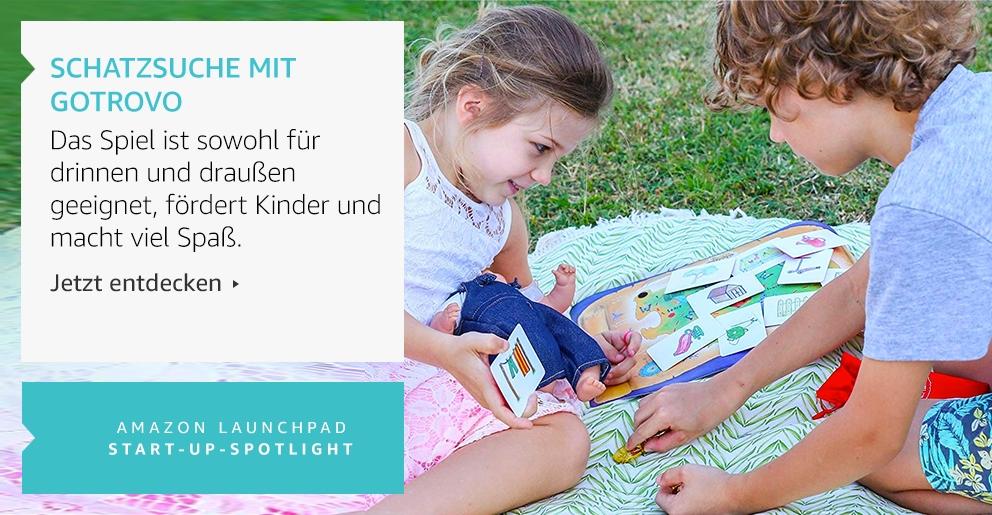 Amazon Launchpad: Schatzsuche mit Gotrovo