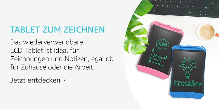 Amazon Launchpad Start-up-Produkte: Tablet Zum Zeichnen