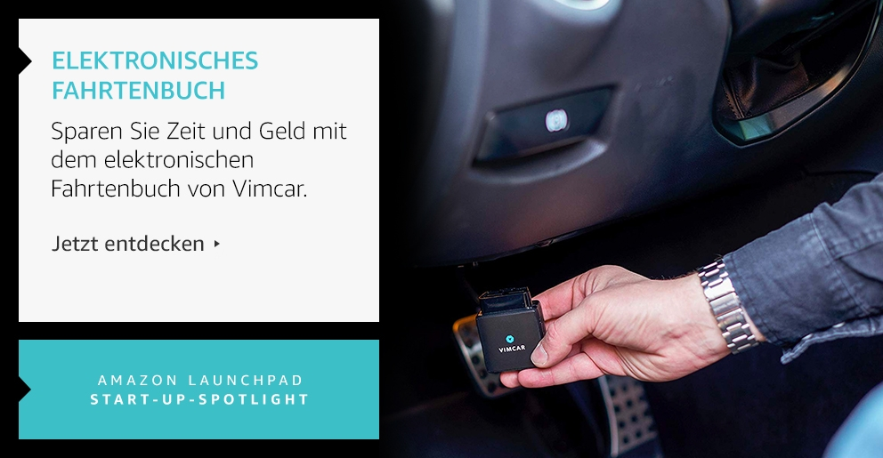 Amazon Launchpad: Eletronisches Fahrtenbuch