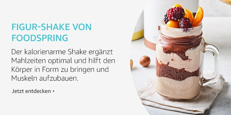 Amazon Launchpad: Figur-shake von Foodspring