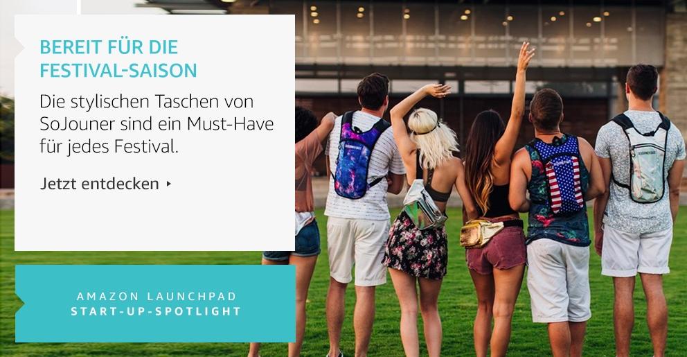 Amazon Launchpad: Bereit für die Festival-Saison