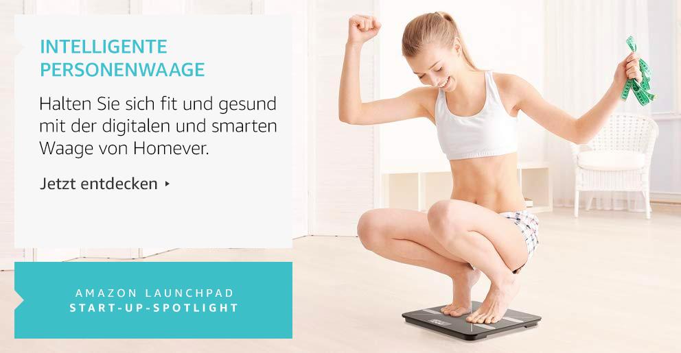 Amazon Launchpad: Intelligente Personenwaage