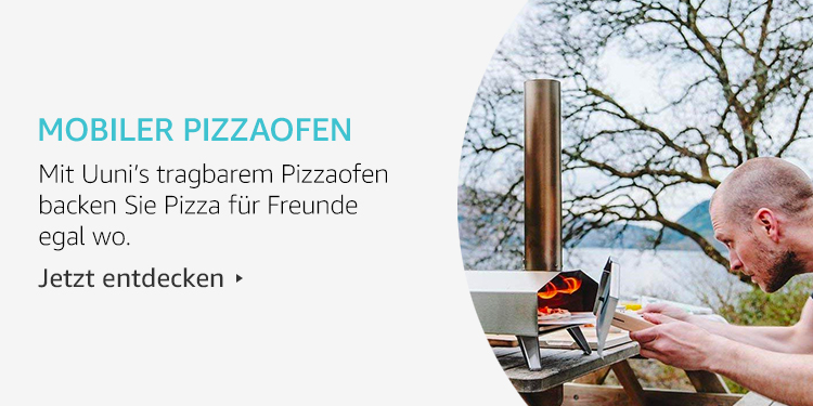 Amazon Launchpad Start-up-Produkte: Mobiler Pizzaofen
