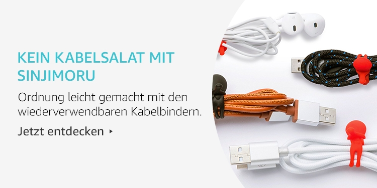 Amazon Launchpad Start-up-Produkte: Kein Kabelsalat mit Sinjimoru