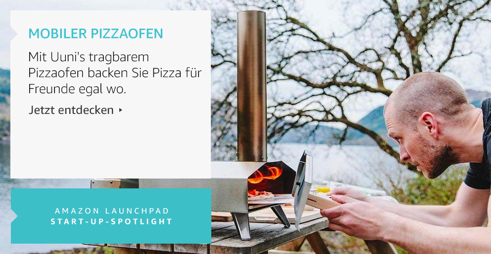 Amazon Launchpad: Mobiler Pizzaofen
