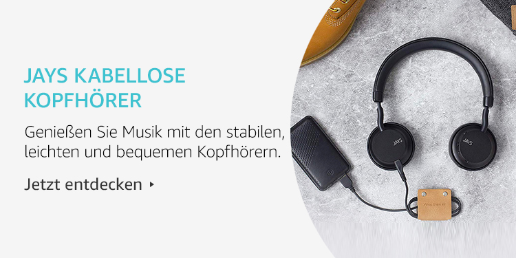 Amazon Launchpad Start-up-Produkte: Jays kabellose Kopfhörer