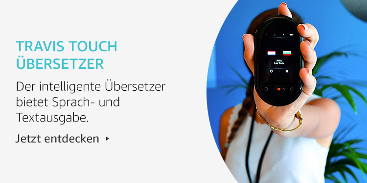 Amazon Launchpad Start-up-Produkte: Travis Touch Übersetzer